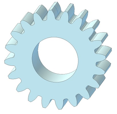 Number of teeth on gear | Alibre Forum
